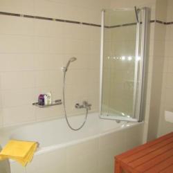 Cabine de protection pour douche