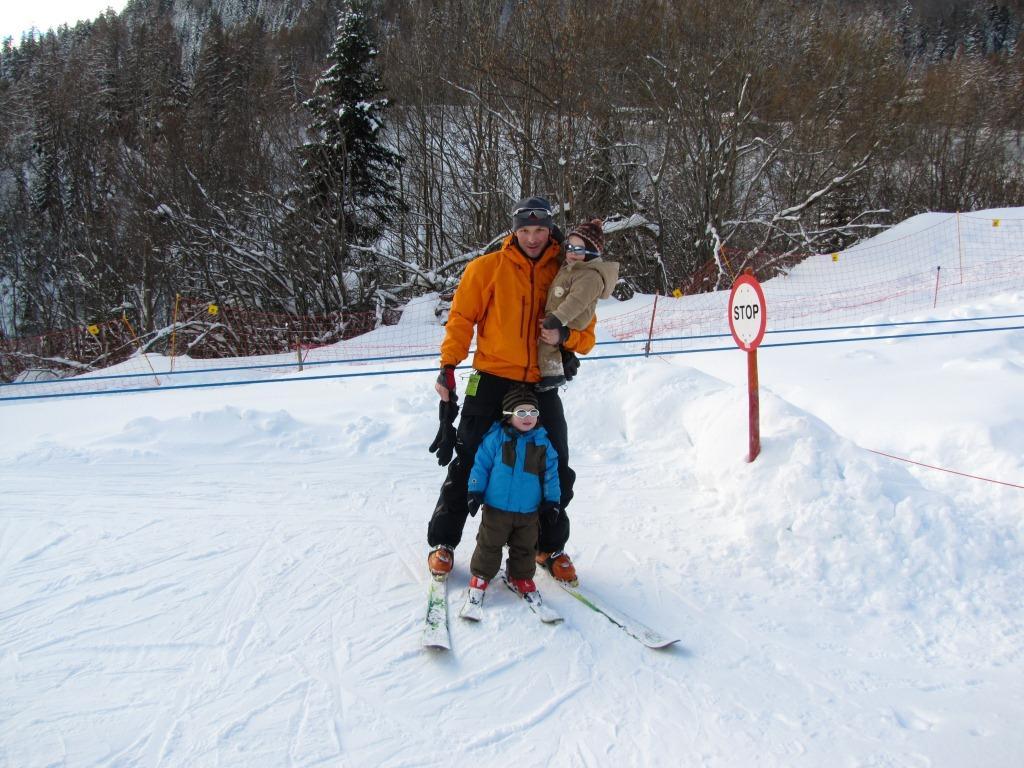 Les hommes au skis 2012